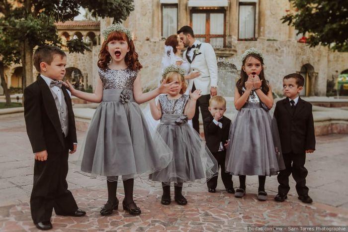 ¿Eres una novia de: boda con o sin niños? 1