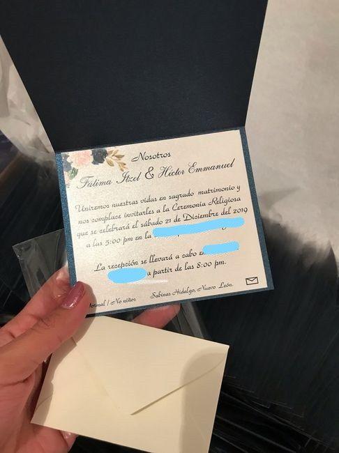 Invitaciones listas! 5