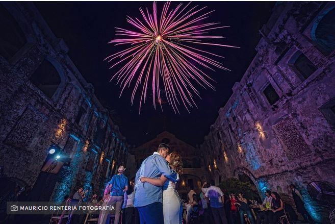 Pirotecnia y fuegos artificiales en la boda: ¿sí o no? 1
