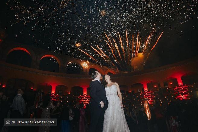 Pirotecnia y fuegos artificiales en la boda: ¿sí o no? 2