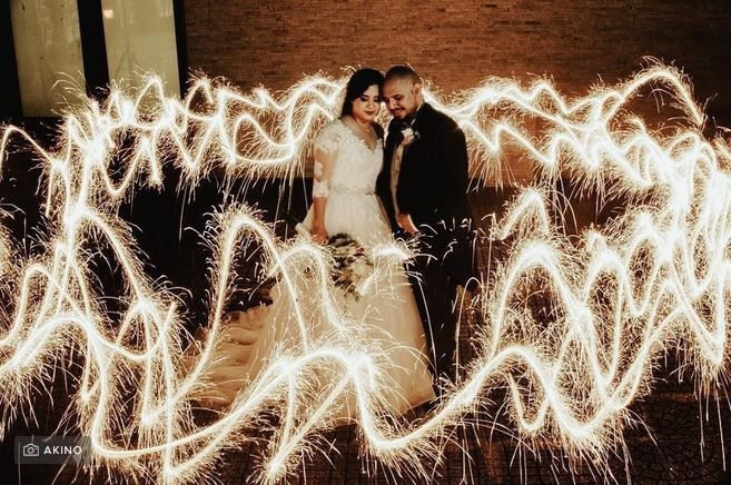 Pirotecnia y fuegos artificiales en la boda: ¿sí o no? 3