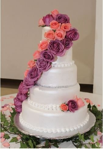 5 pasteles de boda con flores 4