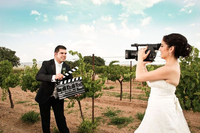 La duración ideal de los vídeos que se ponen en una boda es… 1