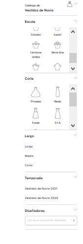 ¿Cómo encontrar vestidos y trajes en la app? 3