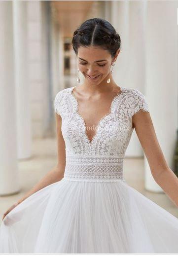 Un vestido al día: Rosa Clará 1