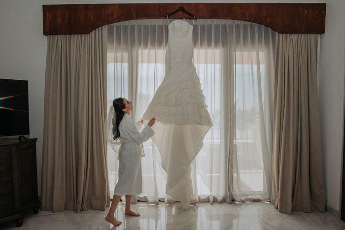 4 fotos de tu vestido de novia que no pueden faltar en el álbum 1