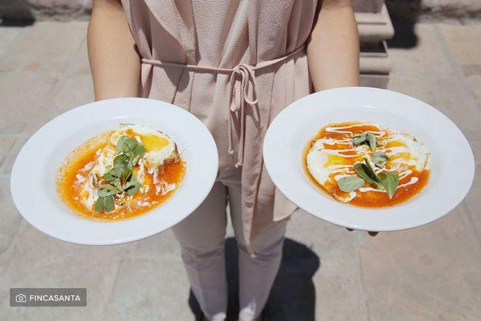 ¿Cuántos platos has probado con tu catering? 1