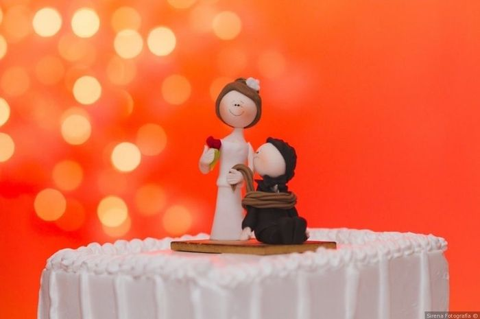 ¿Sí o no a este tipo de cake toppers? 🎁 1