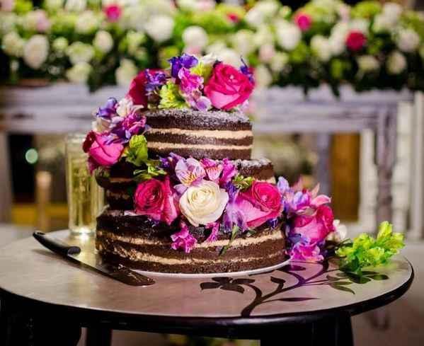 🍰Preparemos tu pastel: ¿Con flores o con frutas? - 1