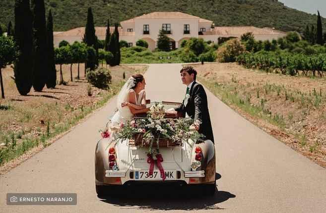 Decorar el auto con flores, ¿Sí o no? - 1
