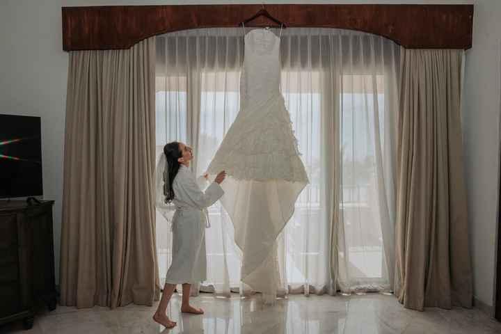 4 fotos de tu vestido de novia que no pueden faltar en el álbum - 1