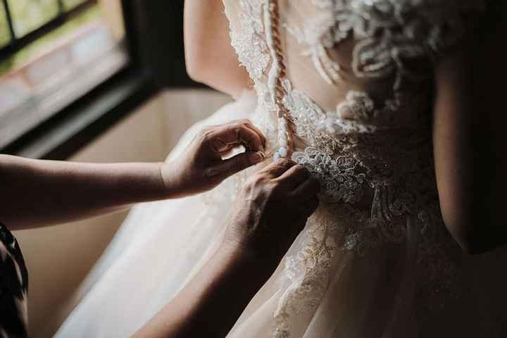 4 fotos de tu vestido de novia que no pueden faltar en el álbum - 3