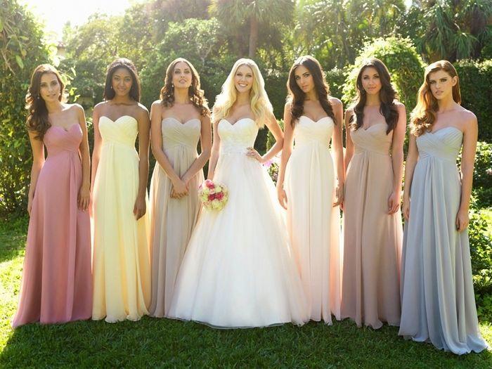 Vestidos para matrimonio de noche campestre