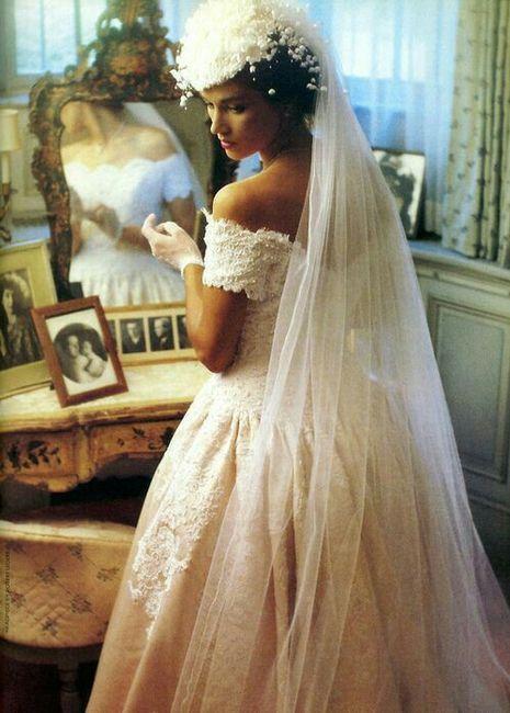 vestidos de novia 1980-1990 - foro moda nupcial - bodas.mx