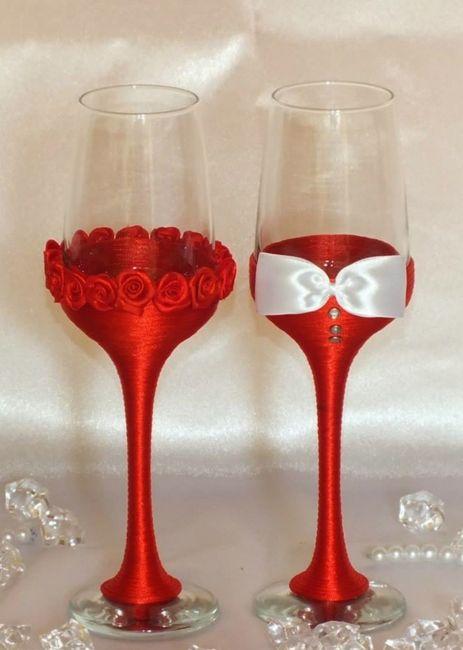 Ayuda con la deco de las copas foro manualidades para - Como decorar copas para boda ...