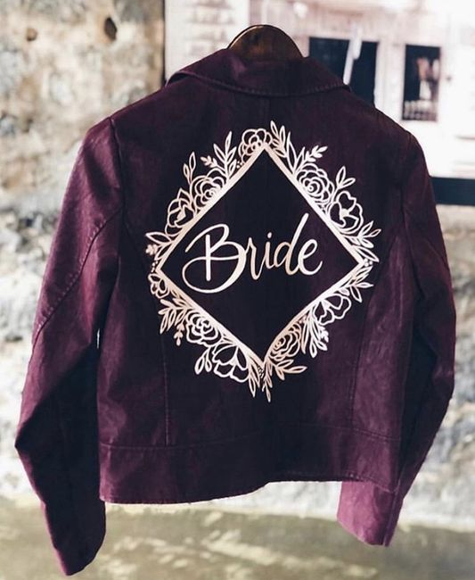 Bride 👰🏽 jacket 🧥 4