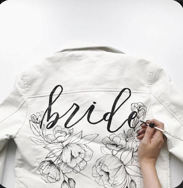 Bride 👰🏽 jacket 🧥 5