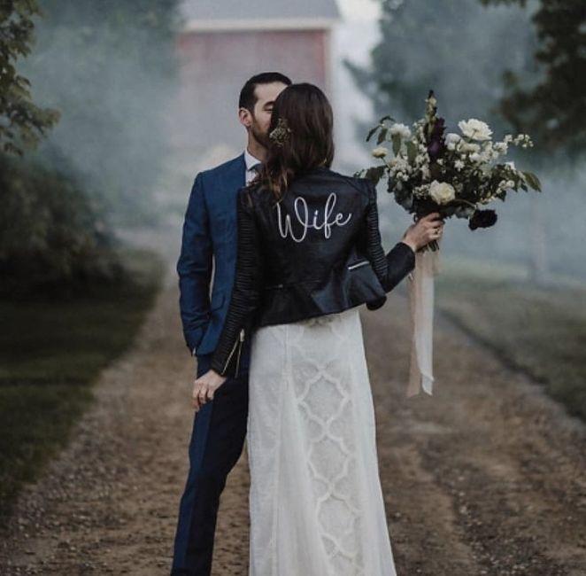 Bride 👰🏽 jacket 🧥 10