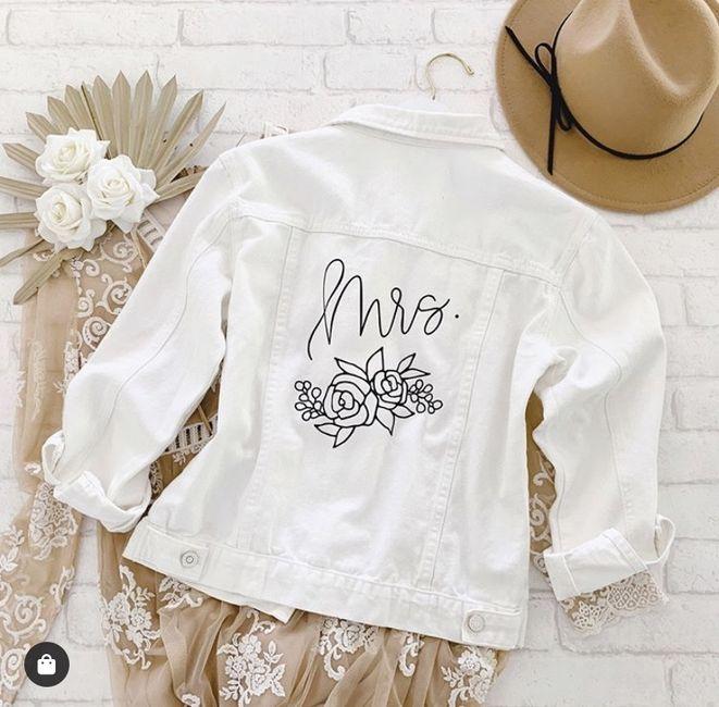 Bride 👰🏽 jacket 🧥 11