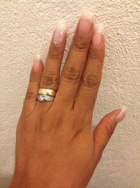 0055491f005c Anillo de compromiso y argolla de matrimonio deben combinar   - Foro ...