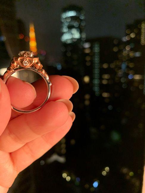Hubiera elegido otro anillo de compromiso: ¿V o F? 15