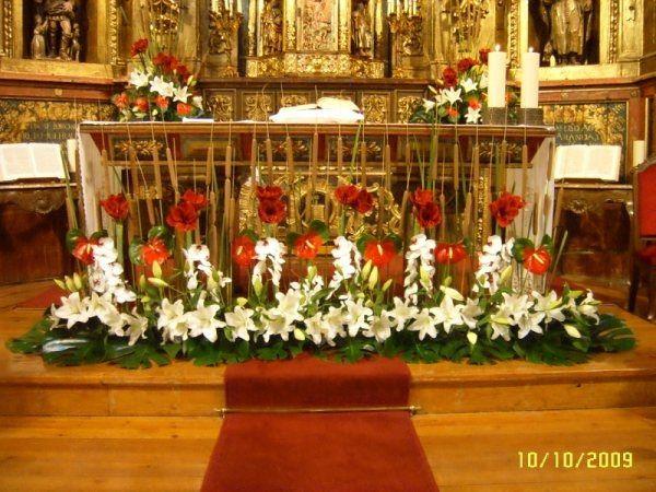 Decoracion Altar Iglesia ~ C?mo hacer decoraciones para bodas en iglesias  Foro Ceremonia