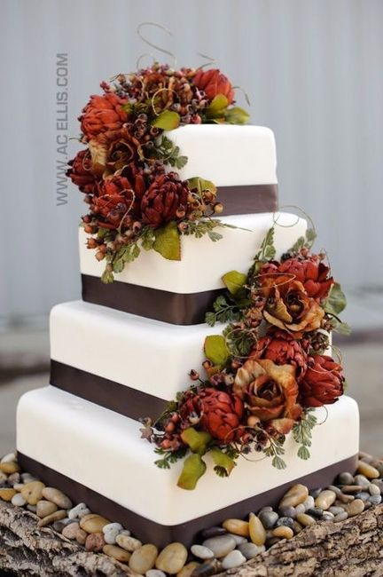 wedding cake fall colors pastel oto 241 al foro organizar una boda bodas mx 22591