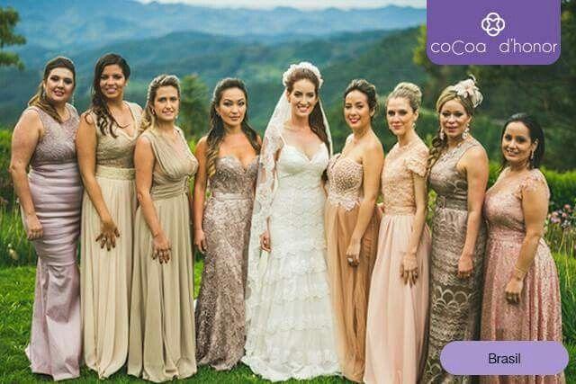 75002b097e Novias y damas de honor en él mundo - Foro Organizar una boda ...