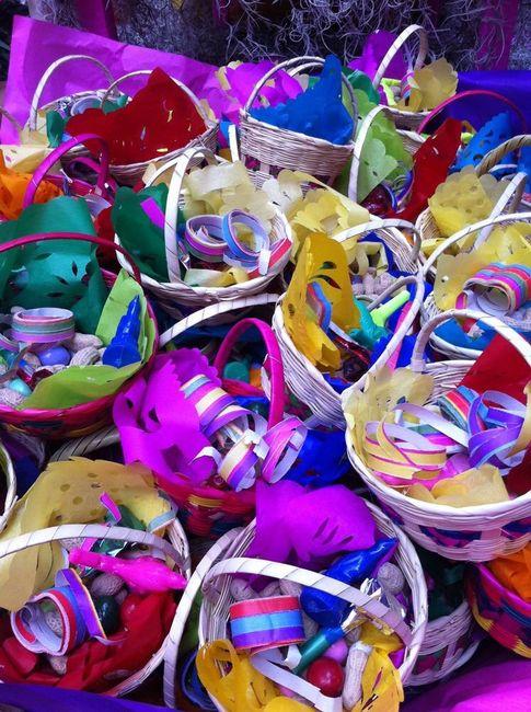 Souvenirs para boda temática mexicana 2