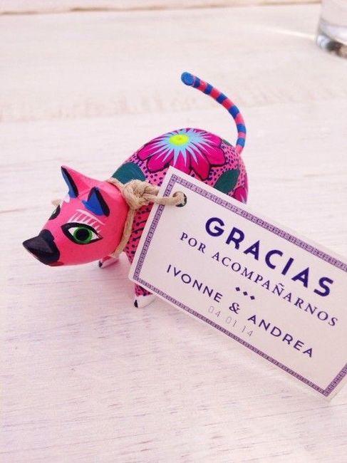 Souvenirs para boda temática mexicana 4