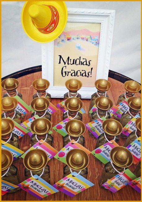 Souvenirs para boda temática mexicana 7