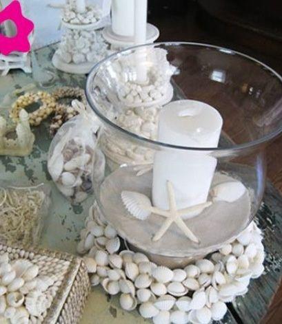 Centros de mesa para boda en playa - 3
