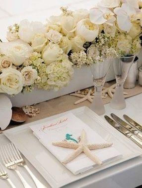 Centros de mesa para boda en playa - 4