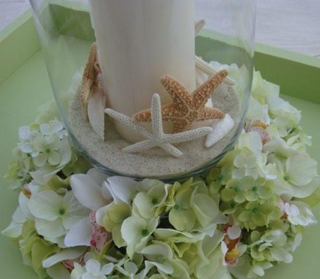Centros de mesa para boda en playa - 5