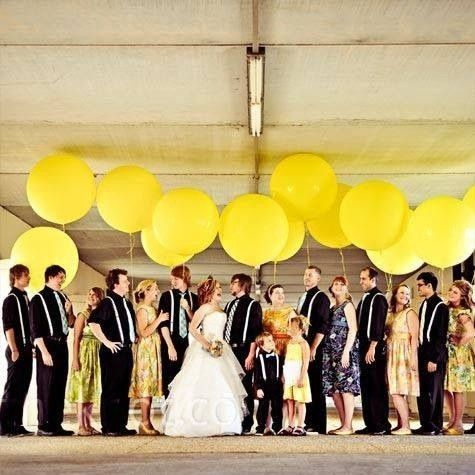 Decoraci n con globos gigantes foro organizar una boda for Decoracion con globos bodas