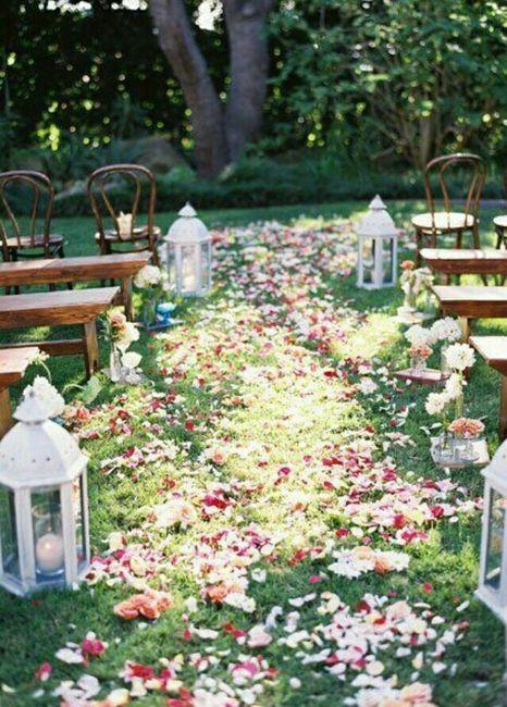 elementos de decoraci n jard n foro organizar una boda