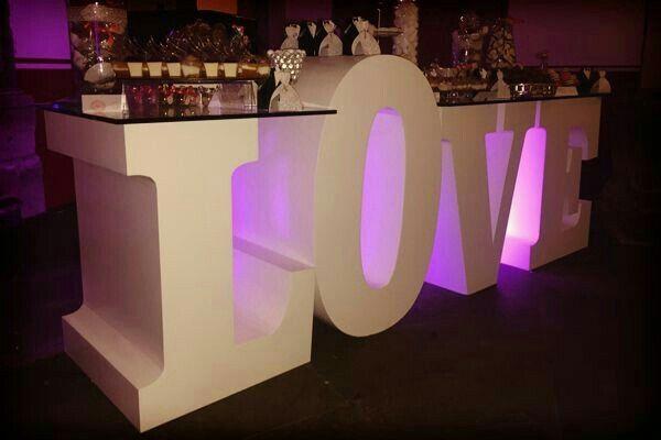Decoraci n con letras foro organizar una boda - Foro decoracion ...