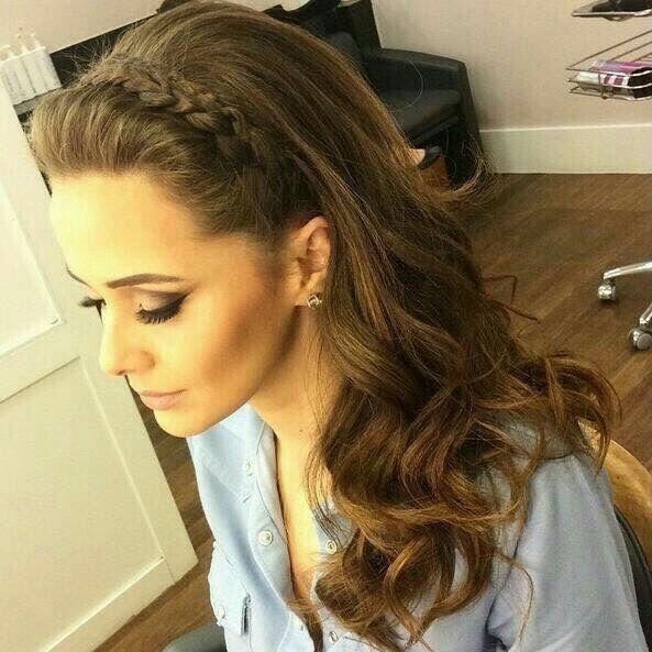 Mi top ten peinados cabello suelto foro belleza - Como hacer peinado para boda ...