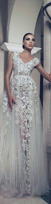 Vestido de novia 3d