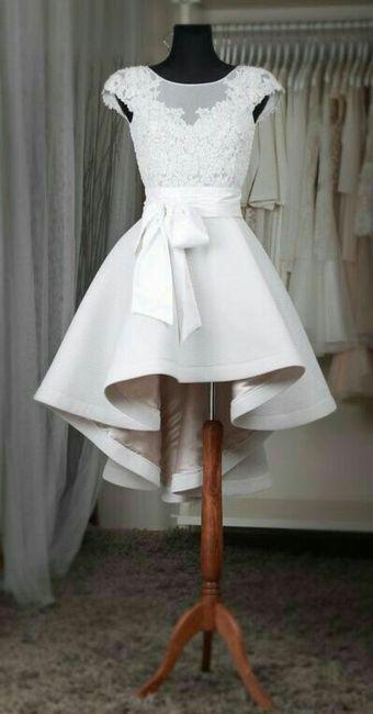 tendencias 2017: vestidos de novia cortos - foro moda nupcial