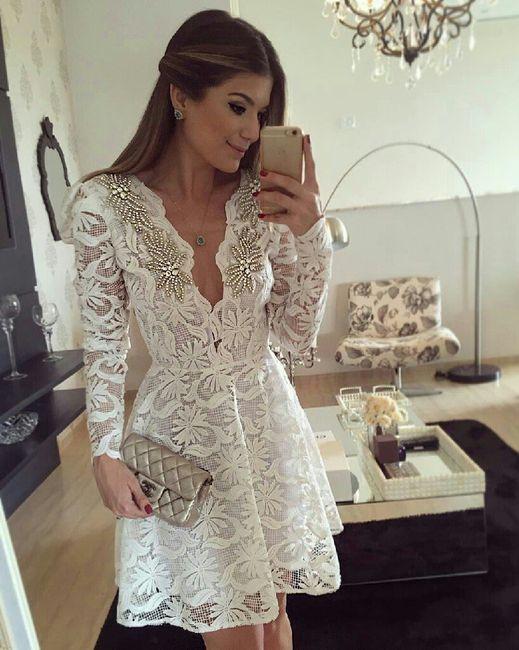 b0486b1c4 Ideas de vestidos para tu boda civil - Foro Moda Nupcial - bodas.com.mx