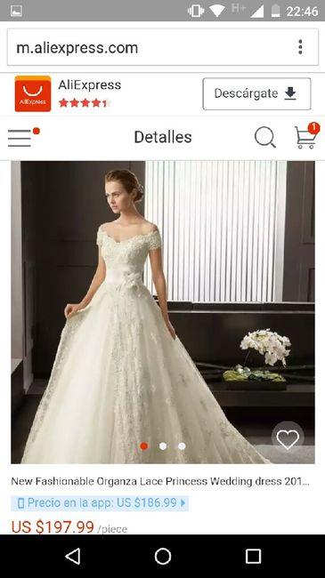 alguien ha comprado su vestido en aliexpress? - foro organizar una
