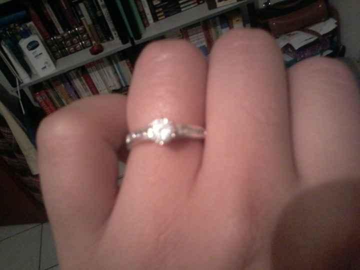 Les presento mi anillo de compromiso!! - 1