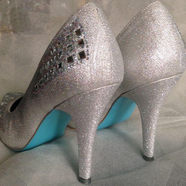 suelas azules para los zapatos de novia! - foro manualidades para