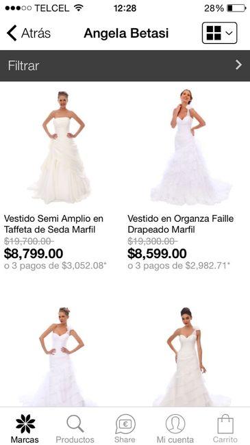 Privalia vestidos de boda