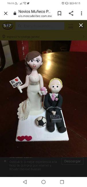 Muñecos para pastel personalizados 1