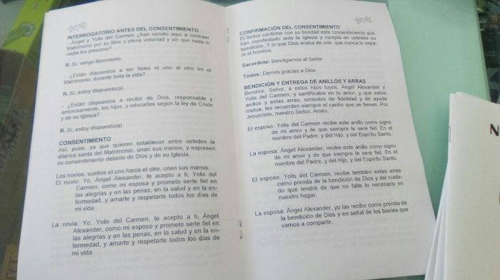 Lecturas Para Matrimonio Catolico : Elaborar misal para la ceremonia religiosa foro