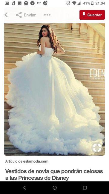 b365ec017 Vestido princesa... ¿👍 o 👎  - Foro Moda Nupcial - bodas.com.mx