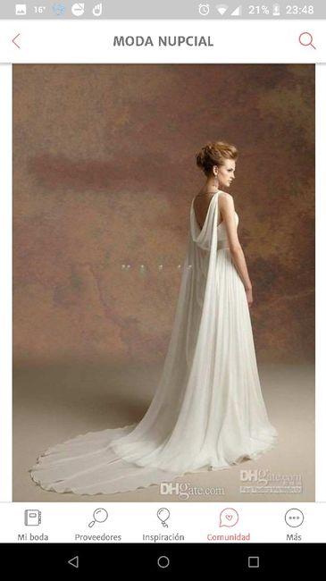Tu vestido de novia con inspiración en diosas griegas 24