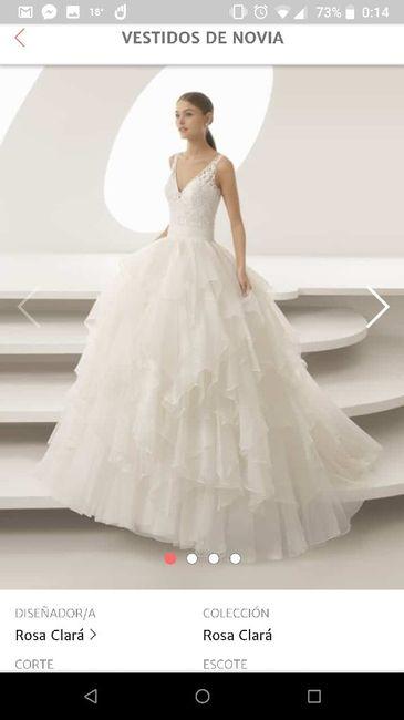 6c360c463 Vestidos novia Rosa Clara primavera-verano 2019 - Foro Moda Nupcial ...
